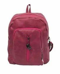 GIRLS Burgundy Backpack