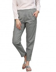Ladies Cotton Pencil Pants
