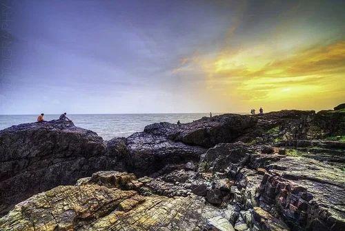 Sunset At Baga Goa Tour Tour Operators Lovell Dsouza