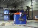 Bi Axial Roto Moulding  Machine