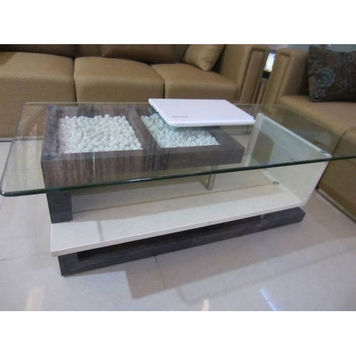 Modern Glass Center Table
