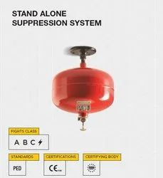 CEASEFIRE Metal alloy STAND ALONE SUPPRESSION SYSTEM, For Offices & Factories, Capacity: 5 Kg & 10 Kg