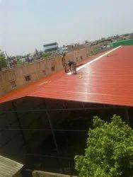Galvanized Roof Work