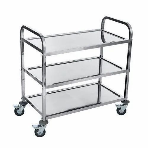 Ryan Stainless Steel Service Trolley