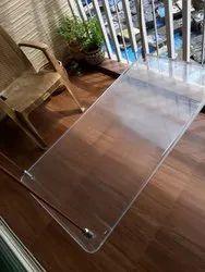 Acrylic Transparent Swing Patla Bench