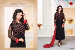 Full Sleeve Fancy Mafeeza Salwar Suit