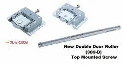 ETIOS Mild Steel New Double Door Roller Top Mounted Screw