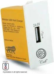 2A Modular USB Wall Charger