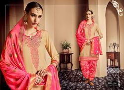 Kajree  Rivaaz By Patiyala Vol-3 Series 981-992 Stylish Party Wear Jam Silk Suit