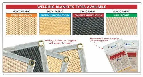 Welding Blanket 600-1x1mtr