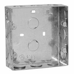 8 m Metallic Grey Box with 6 Clamp