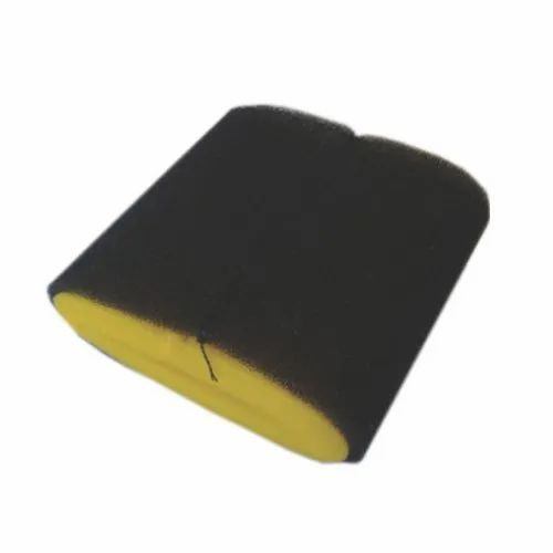 Black&yellow Two Wheeler Air Filter Foam, For Filtration