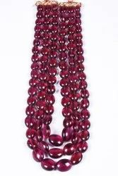 Rubylite Beads Necklace