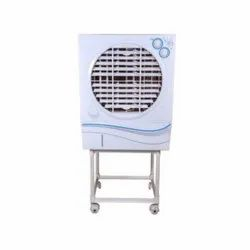 Sharptech White JJR 14 Inch Air Cooler Body With Stand