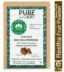 Pure Organic Reetha Powder