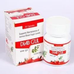 Herbal Antidiabetes Capsules