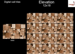 Digital Elevation Wall Tiles 18x12 18909