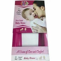 Cardboard Baby Dress Gift Packaging Box