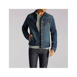 a8b1c48b8b0 Blue Regular Fit Mens Faded Denim Jacket With Brass Button, Rs 650 ...