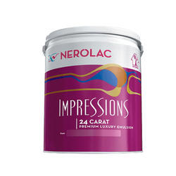 Nerolac Impressions 24 Carat Luxury Emulsion Wall Paint for Interior