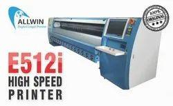 Solvent Ink, Solvent Konica Minolta 512i Allwin E512i Flex Banner Printer, Capacity: 5, 1400 Sqft Per Hour