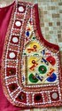Women Cotton Kutchi Short Jacket - Embroidered Mirror Work Shrug - Banjara Waistcoat