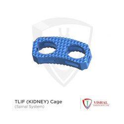 Titanium Tlif Kidney Cage