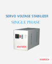 Automatic Steel 4 Kva Single Phase Stabilizer