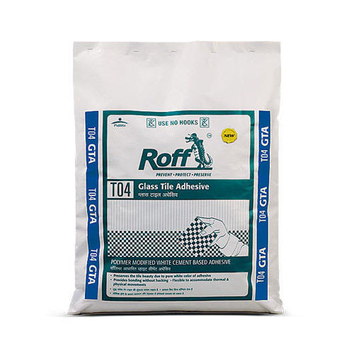 Cement Roff Glass Tile Adhesive