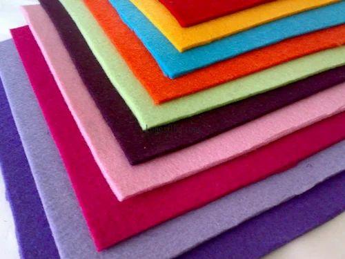 Non Woven Embroidery Felt, Gsm: 150-200
