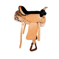 Black- Brown Western Horse Saddle