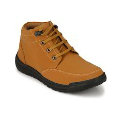 Synthetic Leather Men Brown Casual Shoes