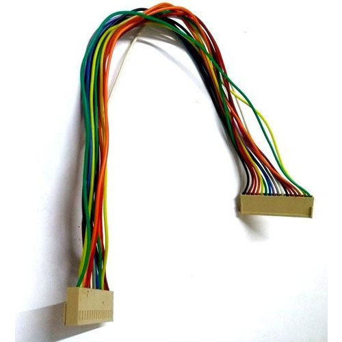 available in multi colours display wire harness
