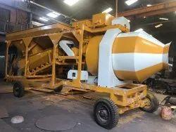 Weber Reversible Drum Concrete Batching Plant