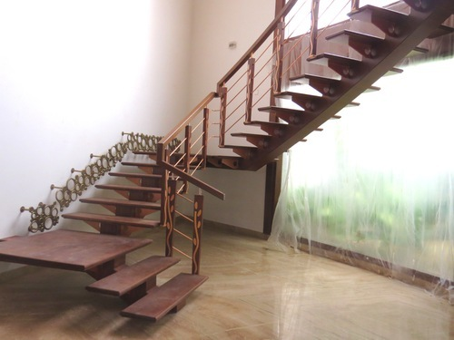 wooden steps staircase - Wooden Stairs