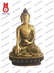 Lord Buddha Sitting Sakyamuni Carved