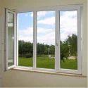 Hinged 1.5 Feet Decorative Upvc Window