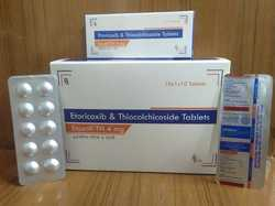 4 mg Etoricoxib and Thiocolchicoside Tablets