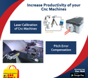 Laser Calibration Services for CNC Laser Cutting Plasma Waterjet Router Machines