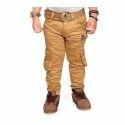Kids Boys Brown Cargo Pant