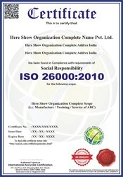 ISO 26000:2010 Certification & Consultancy Service