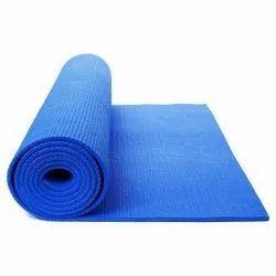 Blue Rubber Yoga Mat
