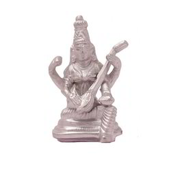 Astrodevam Silver Sarswati Idol