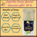 Superbee Raw Mustard/Cream Honey Export Quality 1kg