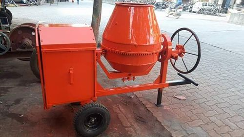 6 Hp Cast Iron Manual Concrete Mixer Capacity 480 Liters