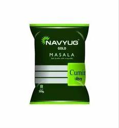 Navyug Gold Masala Cumin Seeds, Packaging Size: 500g, Packaging: Packet