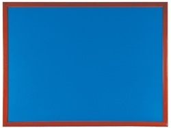 SIGNMARK Blue Wooden Notice Board, Board Size (Inches): 24 x 36
