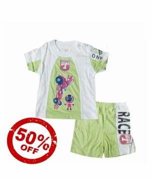 34c5659b1 Green 100 % Cotton Kitex Sporty Kid Color