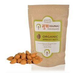Guna Organic Apricot Nuts, Packaging Size: 200 gm