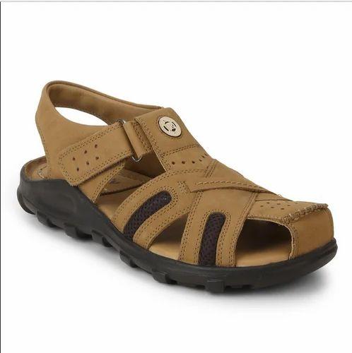 002157882e7c3 Leather Rust Slip On Sandal For Mens